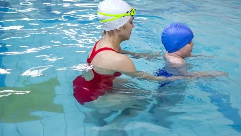 Individualni plavalni tečaj za otroke