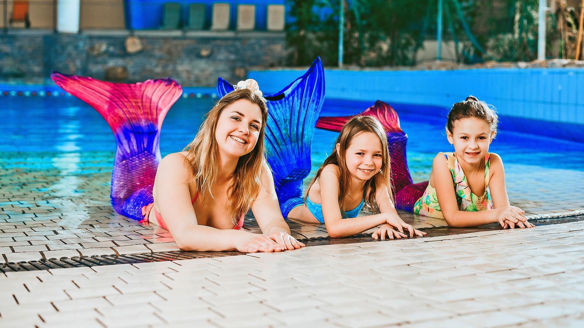 Morske deklice in dečki (za plavalce)